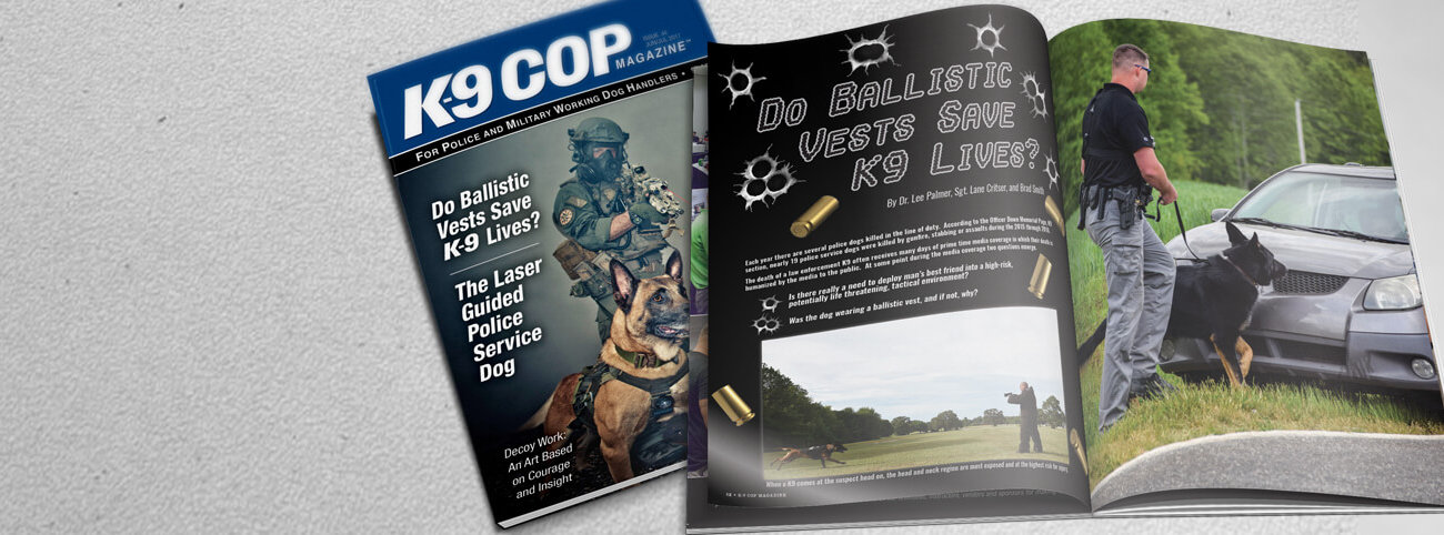 K-9 Cop Magazine - What's Inside